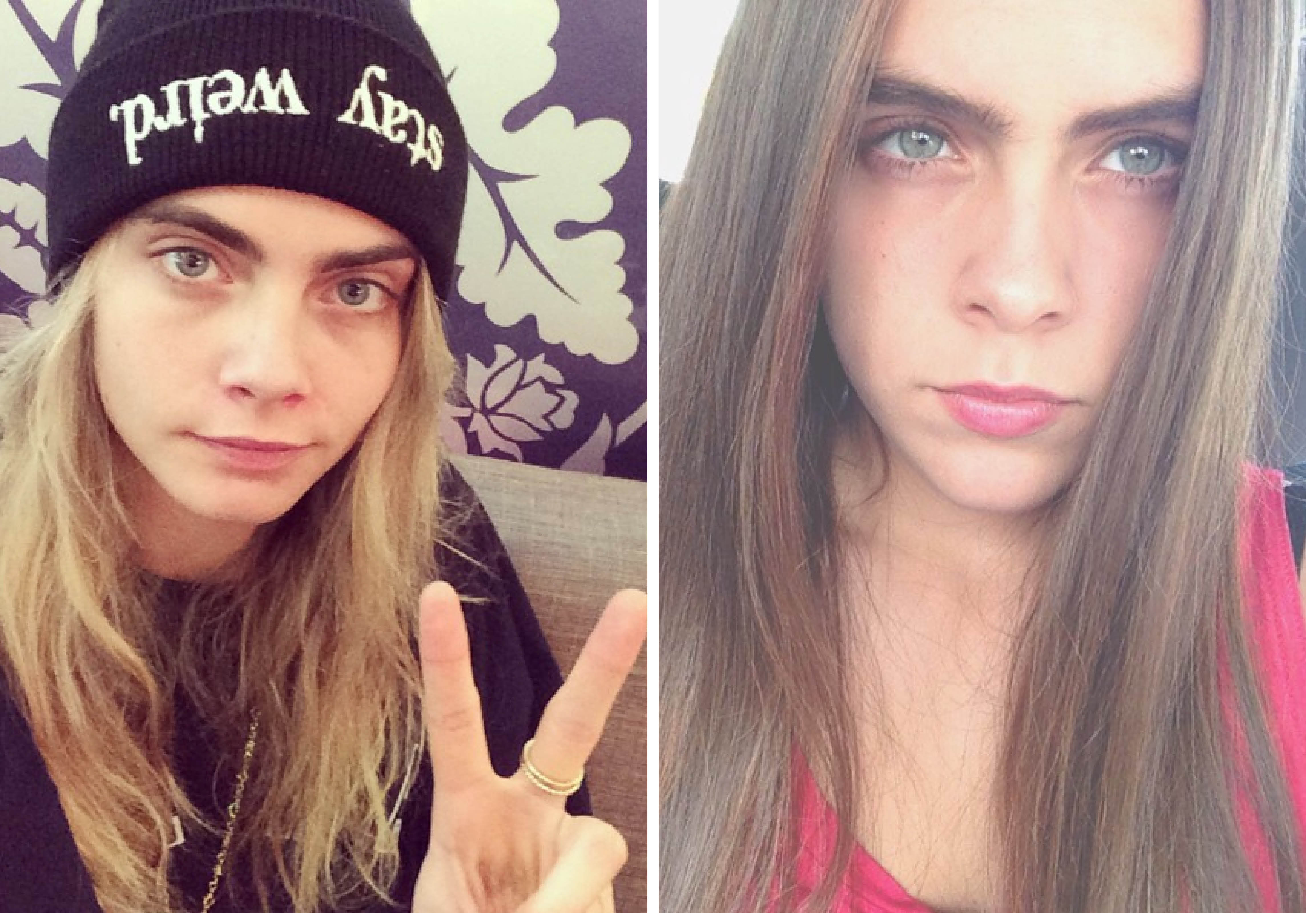 olivia herdt le sosie de cara delevingne sosie de star les c l brit s nous font voir double. Black Bedroom Furniture Sets. Home Design Ideas