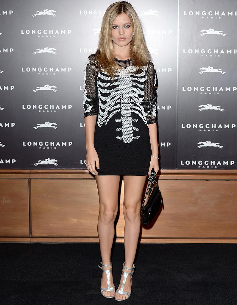 Le Look Du Jour Georgia May Jagger La Fashion Week De Londres Elle
