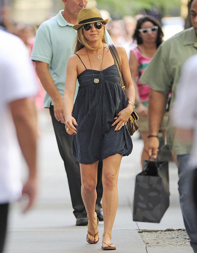 Le Look Du Jour Jennifer Aniston Superbe California Girl Elle