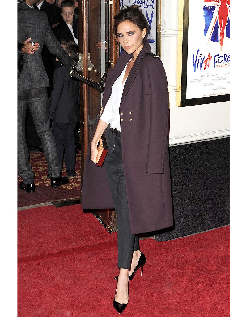 Le Manteau Oversize De Victoria Beckham Comment Les