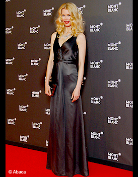 People_tapis_rouge_soiree_gala_mont_blanc_claudia_schiffer ...
