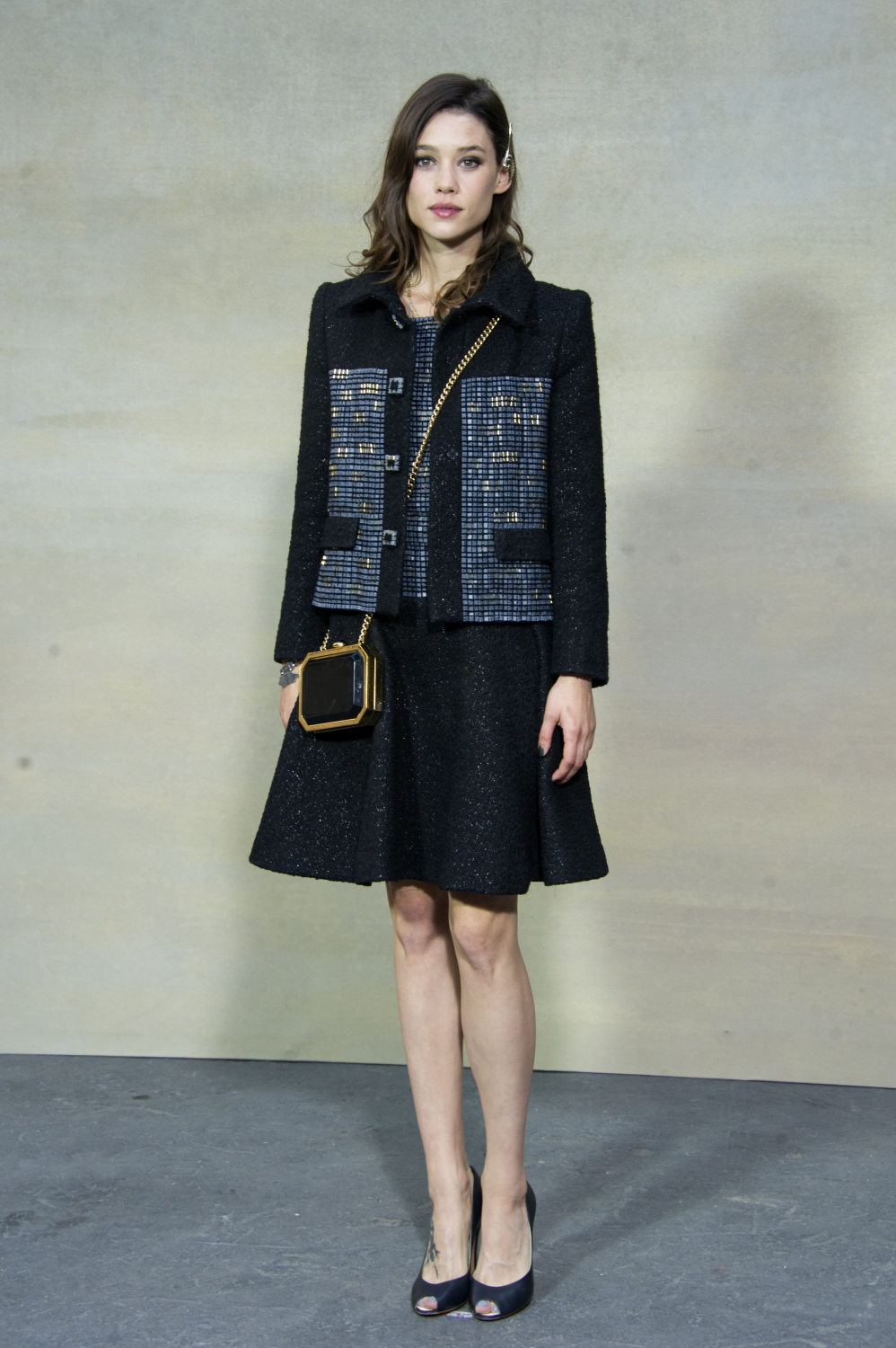 astrid berges frisbey fashion week de paris toutes au d fil chanel elle. Black Bedroom Furniture Sets. Home Design Ideas