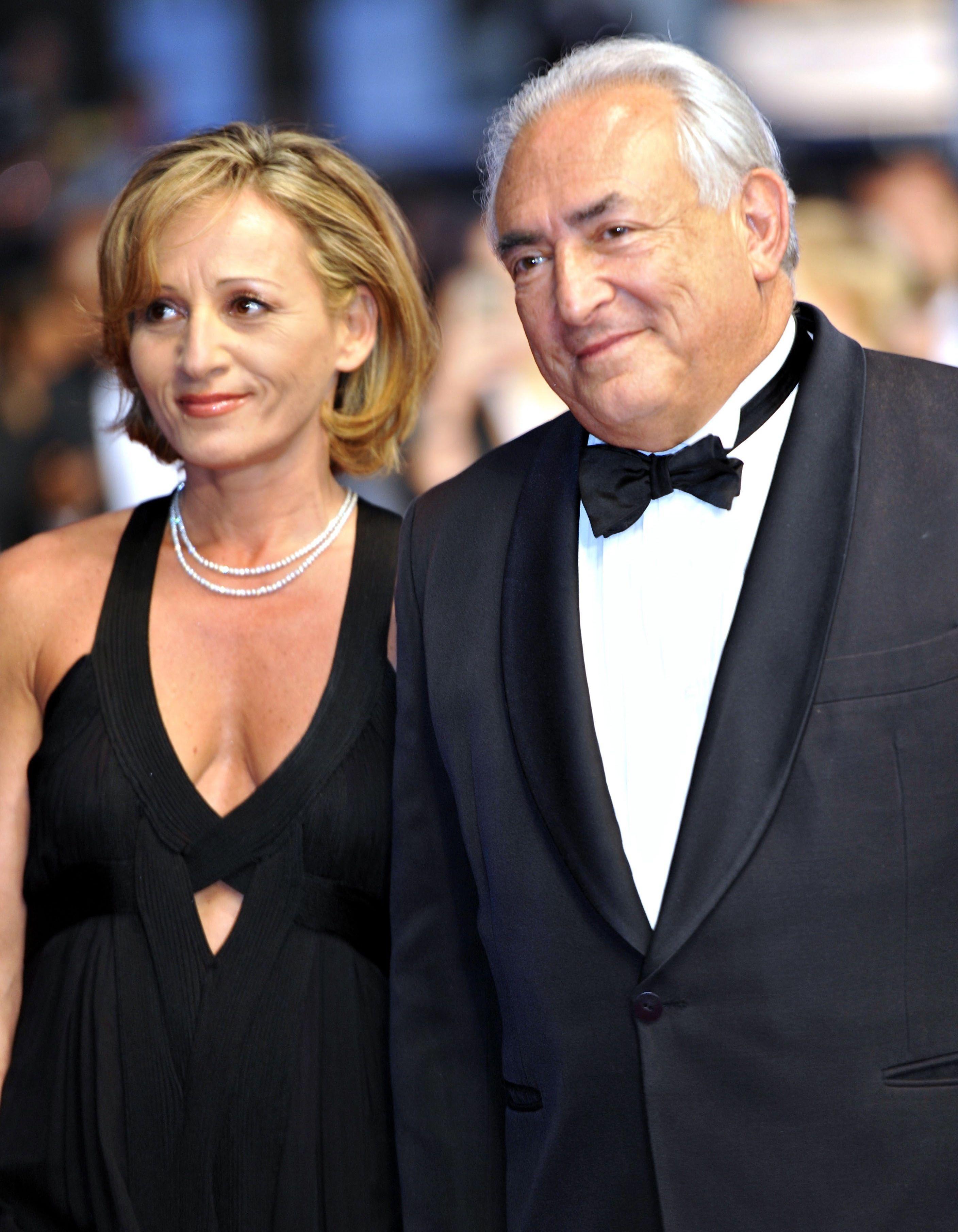 Cannes 2013 dsk au bras de sa nouvelle compagne elle - Sophie jovillard et sa compagne ...