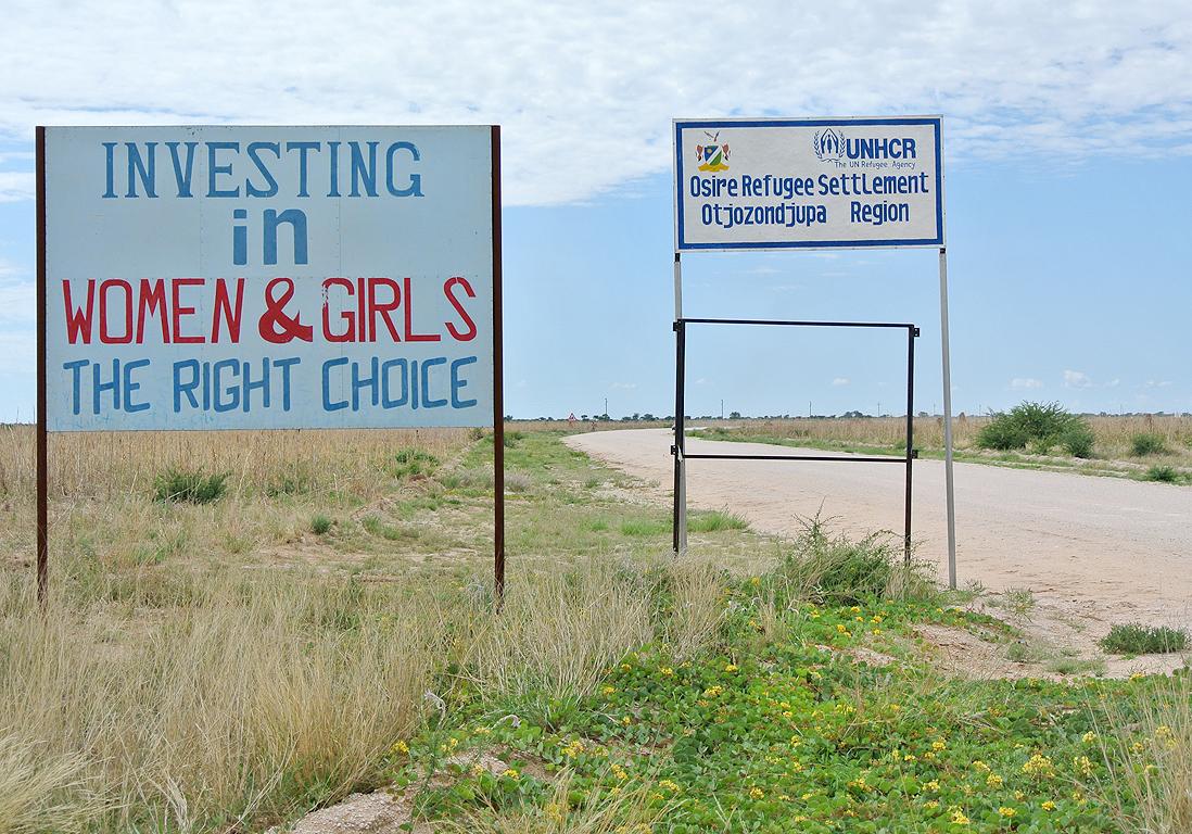 l 39 unhcr milite pour l 39 galit femmes hommes namibie femmes et r fugi es depuis 10 ans elle. Black Bedroom Furniture Sets. Home Design Ideas