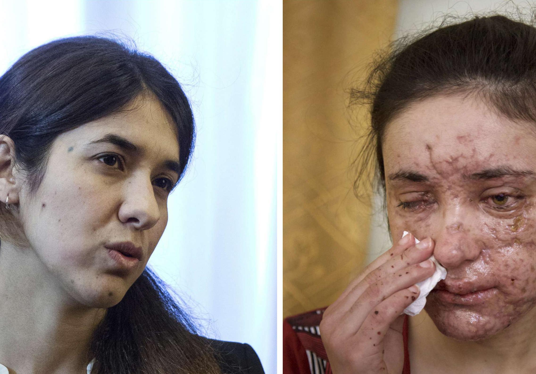 Anciennes esclaves sexuelles de Daech deux femmes a l heroisme enfin recompense