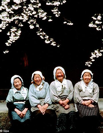 japon le pays o les femmes vivent le plus longtemps elle. Black Bedroom Furniture Sets. Home Design Ideas