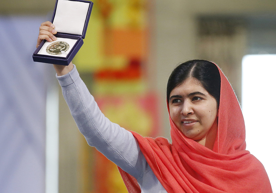 le discours percutant de malala lors de sa remise du prix nobel elle. Black Bedroom Furniture Sets. Home Design Ideas